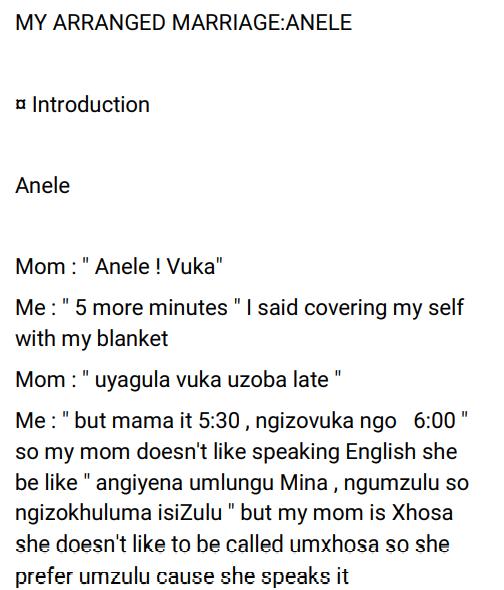 My Arranged Marriage: Anele Ss (1&2)